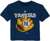 Majestic Toddlers' New York Yankees Baseball Mitt T-Shirt