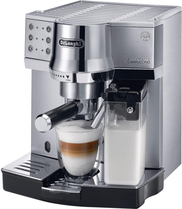 De'Longhi Delonghi DeLonghi Die-Cast Pump Espresso Cappuccino Maker EC860