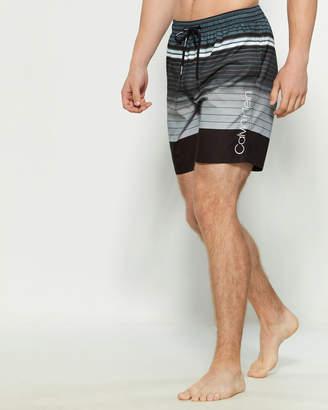 Calvin Klein Volley Stripe Swim Shorts