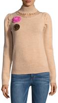 Manoush Women's Grunge Wool Sweater