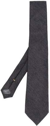 Canali woven pointed-tip tie