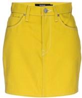 Hudson Jeans Viper Denim Mini Skirt