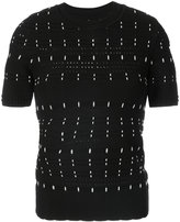 Yigal Azrouel woven stitch knit top