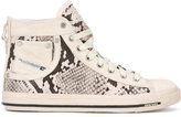 Diesel Exposure hi-tops - women - Cotton/Leather/Polyurethane/rubber - 36
