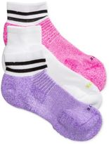 Hue Women's 3-Pk. Air Cushion Quarter-Top Socks