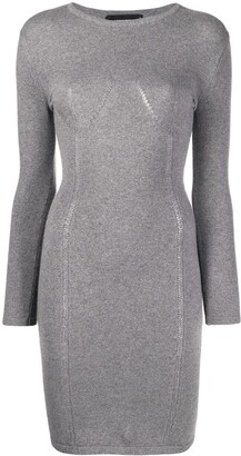DSQUARED2 Long-Sleeve Knitted Dress