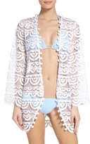 Pilyq Women's Lace Cover-Up Cardigan