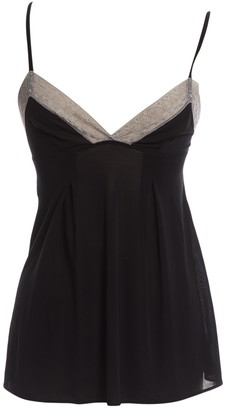 Eres Black Synthetic Tops