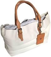 Polo Ralph Lauren White Leather Handbags