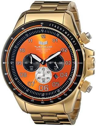 Vestal Men's ZR3029 ZR-3 Analog Display Japanese Quartz Gold Watch