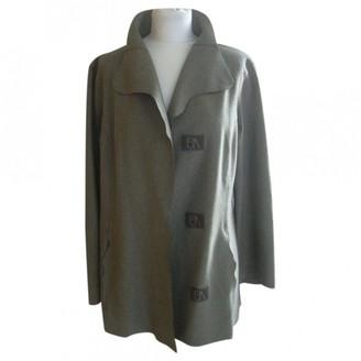 Emmanuelle Khanh Green Wool Jacket for Women