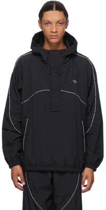 Neighborhood Black Waves Anorak Jacket