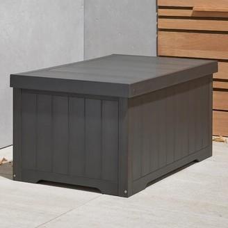 Trinity 70 Gallon Resin Deck Box Color: Slate Gray