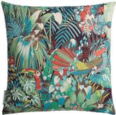 Matthew Williamson Green Jungle Beat Cushion