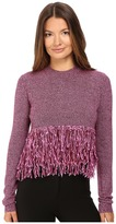 McQ by Alexander McQueen Fringe Crew Neck Women's Clothing
