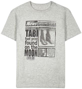 Maison Margiela Tabi printed cotton T-shirt