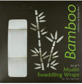 Bubba Blue Bamboo Pack Of 3 Muslin Wraps