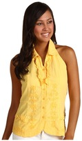Scully Cantina Cathy Summer Fest Top (Yellow) - Apparel