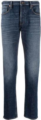 Emporio Armani Low-Rise Slim-Fit Jeans