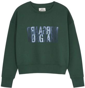 Mads Norgaard Tilvina logo-print cotton sweatshirt