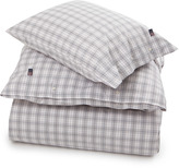 Lexington Company Lexington Poplin Check Duvet White Multi 140x200cm