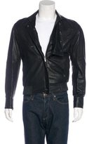 Karl Lagerfeld Leather Moto Jacket w/ Tags