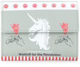 Undercover unicorn print wallet - unisex - Leather - One Size