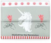 Undercover unicorn print wallet