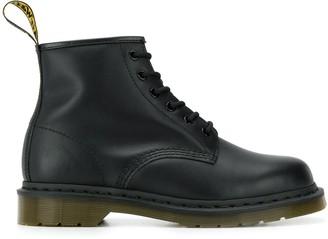 Dr. Martens flat lace-up boots