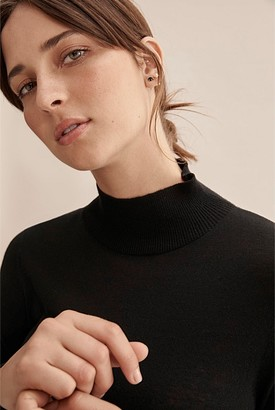 Country Road Wool Silk Long Sleeve Knit