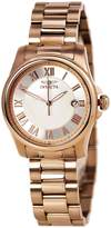Invicta 15237 Women's Angel MOP Dial Rose Gold Steel Bracelet Quartz Watch