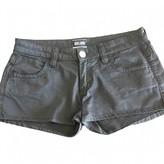 Jean Paul Gaultier Grey Cotton Shorts