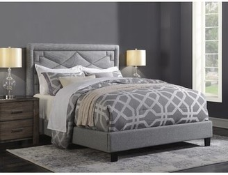 Mercer41 Wolter Diamond Standard Queen Upholstered Bed