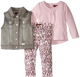7 For All Mankind The Skinny Stretch Twill Set (Baby) - Grey - 12 Months