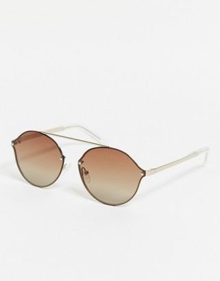 Pilgrim zadie oval sunglasses
