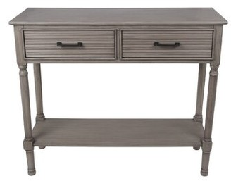 Allura Highland Dunes Pearl Console Table Highland Dunes Color: Sandstone