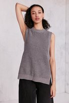 Silence & Noise Silence + Noise Maddox High/Low Muscle Tank Sweater