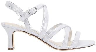 Nina Genaya Silver Ref Suede Sandal