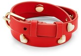Tory Burch Amore Heart Double Wrap Bracelet