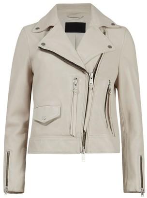 AllSaints Leather Kara Biker Jacket