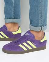 Adidas Originals Gazelle Trainers In Unity Purple Bb5262