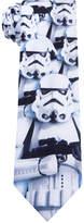 Star Wars Men's Stormtrooper Conversational Tie
