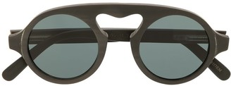 Rigards Round Bridge Sunglasses