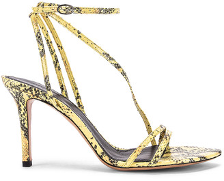 Isabel Marant Axee Sandal in Yellow | FWRD
