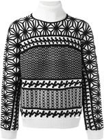 DSQUARED2 Japanese star knit jumper