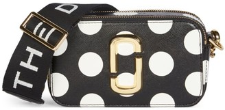 Marc Jacobs The Snapshot Dot Coated Leather Camera Bag