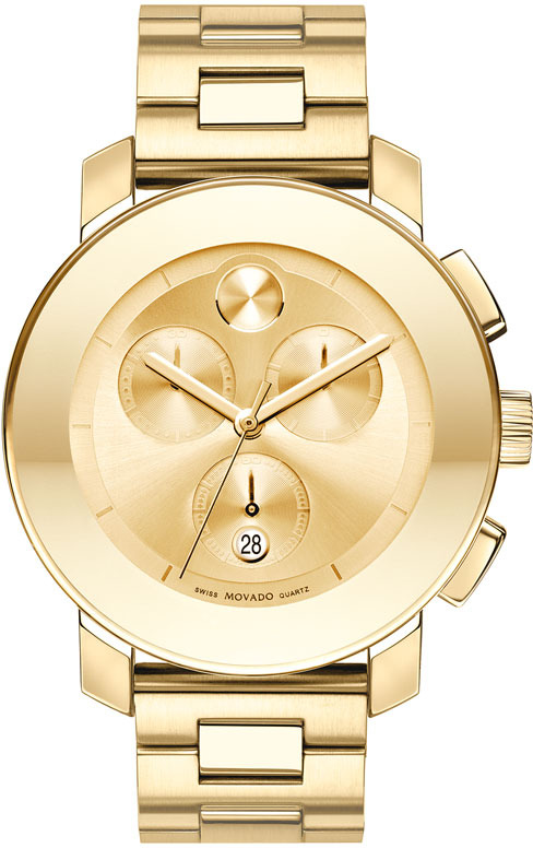 Movado 'Bold Chronograph' Bracelet Watch (Save Now through 12/19)
