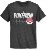 New World Men's Pokémon Poké Ball Graphic-Print T-Shirt