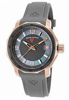 Swiss Legend Women's 16191SM-RG-014-GRYS Blue Geneve Analog Display Swiss Quartz Grey Watch