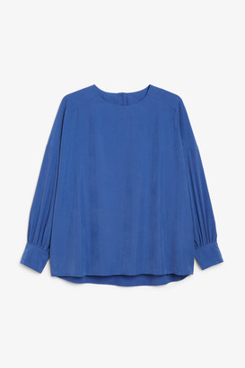 Monki Button up back blouse